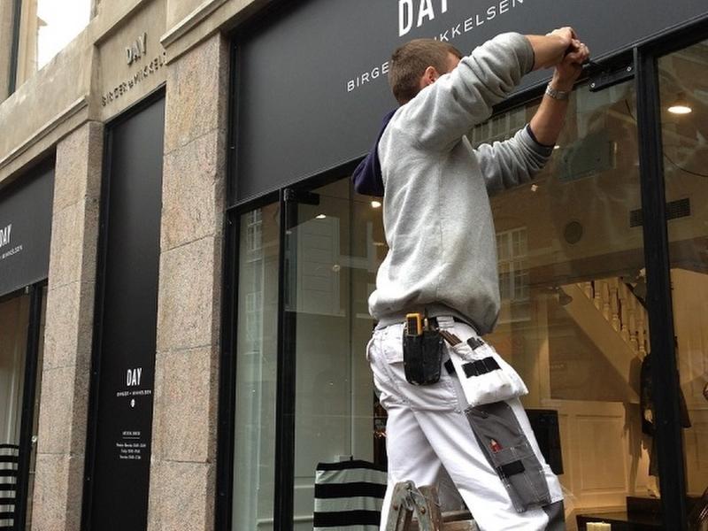 butiksruder fra LE Glas