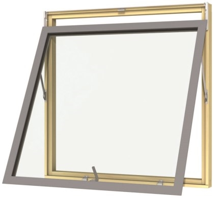 Tophængt vindue