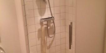 LE GLAS bruse væg – brusedør
