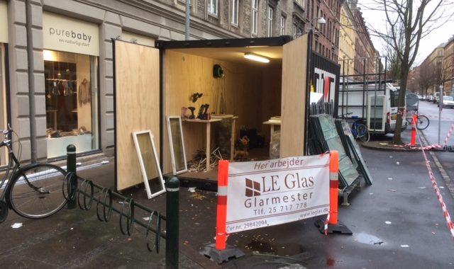 Støjdæmpende ruder fra LE Glas til boligforening