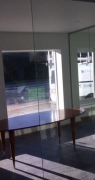 Glasvæg til mødelokal fra LE Glas