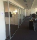 Glasvæg til kontor