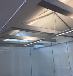 Glas til mødelokale og kontor fra LE Glas