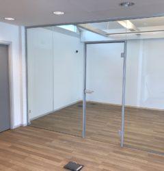 Glasvægge til kontor fra LE Glas