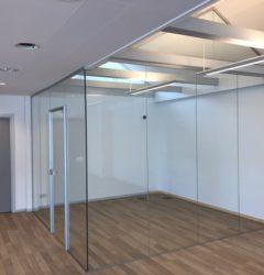 Mødelokale i glas