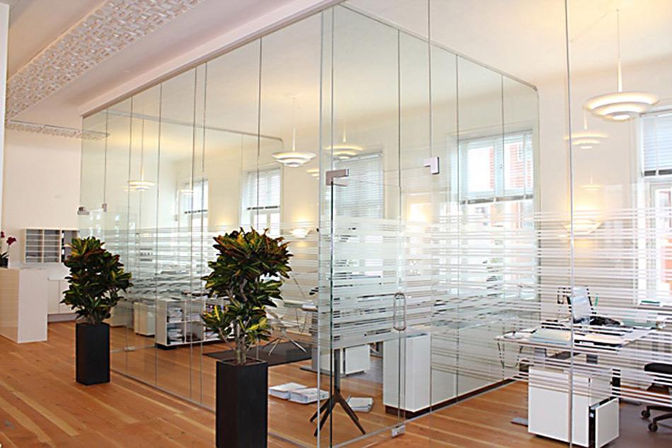 Glasvægge - Glasdøre fra LE Glas