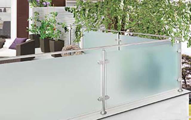Glasgelænder fra LE-Glas